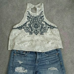 Ecote Embroidered Tank